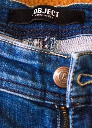 Джинсы женские синие object (27) (xs)6 фото