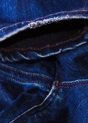 Джинсы женские maison scotch amsterdam blau синие (w26 l30) (xs-s)5 фото