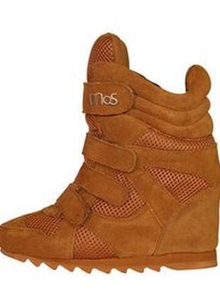 Фирменные ботинки  (кроссы на танкетке), mos copenhagen