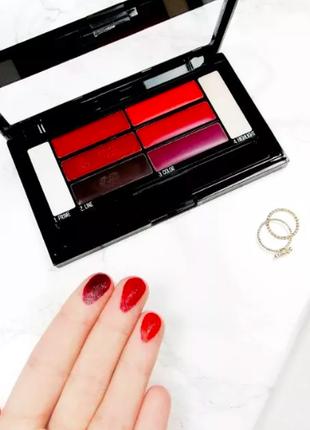 Maybelline color drama lip contour palette палетка помада