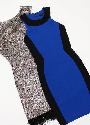 Чорно-синє плаття jane norman розмір s