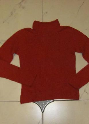 Шикарный свитер лама шерсть