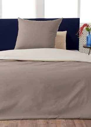 Шикарный двухсторонний постельный комплект mikrofaser satin meradiso германия 220 x 230 см
