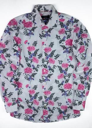 Мужская рубашка eton floral shirt