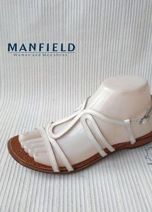 3496 босоніжки manfield 38 шкіра сток