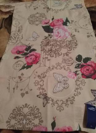 Красивенный постельный комплект в стиле прованс meradiso  германия 220 x l 230 см5 фото