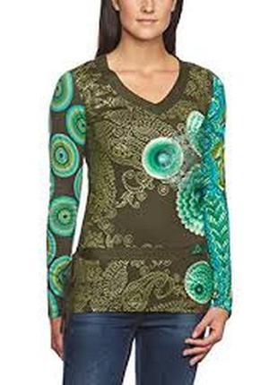 Коттоновый свитер desigual