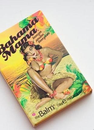 Бронзер bahama mama thebalm оригинал