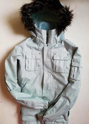 The north face куртка лыжная горнолыжная термо