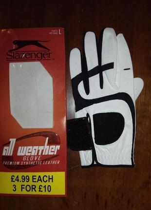 Перчатка для игры в гольф, slazenger, мужская, размер l.