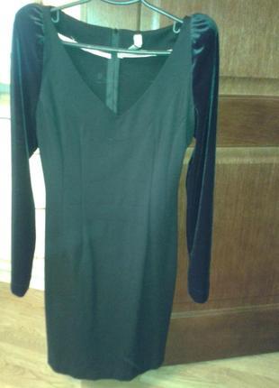 Маленькое черное платье от украинского дизайнера а.тана