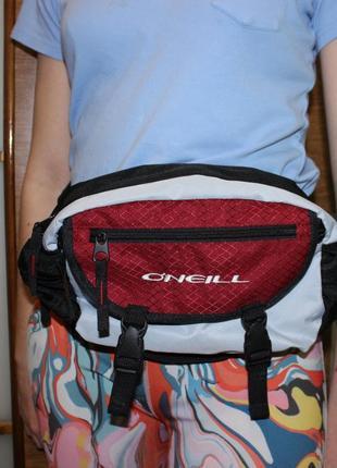 Поясная трекинговая сумка o'neill. оригинал.