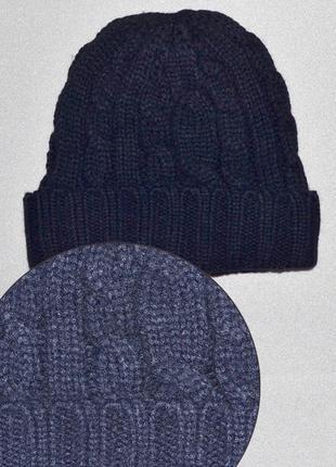 Теплая вязаная зимняя шапка от tcm tchibo