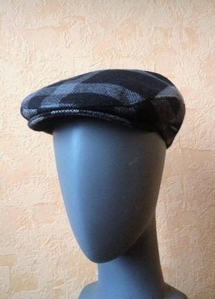 Стильный, фирменный кепи - bugatti (шерсть mix)