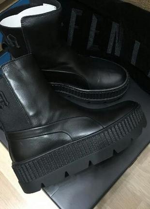 Сапоги ботинки puma fenty оригинал кожа