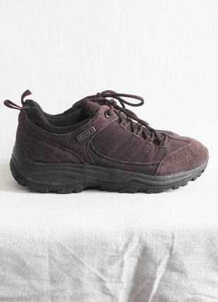 Замшевые городские  кроссовки walkx® outdoor trekking gpc-tex