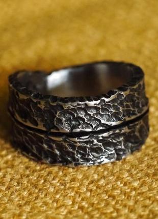 "Брутальне коване кольцо ""дракон 2"""
