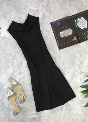 Оригинальное платье в черном цвете  dr1852051 benetton