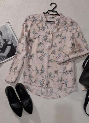 Красивая нежная рубашка. размер м