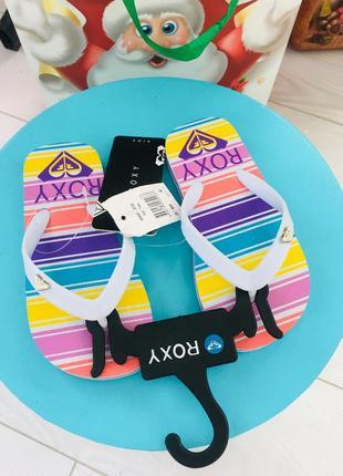 Roxy вьетнамки шлёпки  8 размер