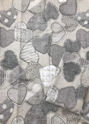 Постельное белье сердца полуторка двуспальное евро семейное2
