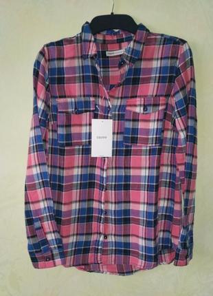 Рубашка 100%хлопок