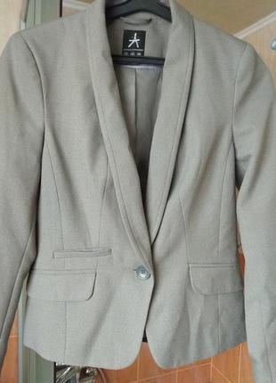 Серый женский пиджак /жакет atmosphere