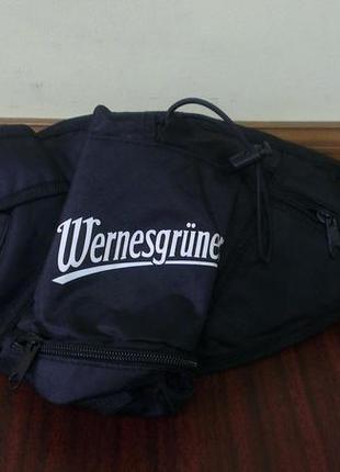 Wernesgrüner поясная сумка (бананка) унисекс