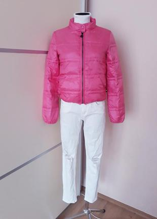 Яркая куртка пуховик 1+1=3
