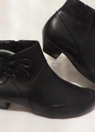 Ботинки кожа германия caprice 37,5 размер