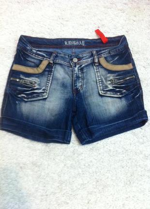 Стильные джинсовые шорты хл