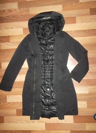 Зимняя куртка пуховик mango