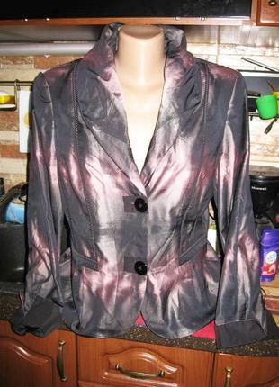 Красивейший нарядный миненый жакет пиджак  от немецкого бренда