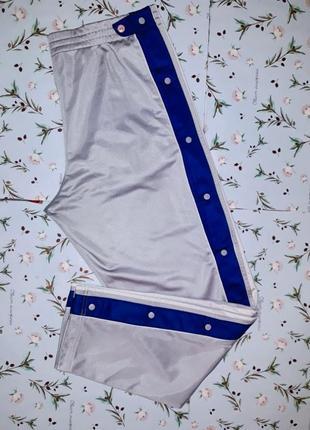 Стильные модные спортивные штаны на заклепках adidas, размер 50-52