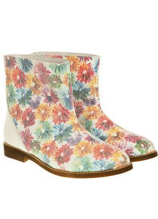 397бп женские ботинки el passo,кожаные,на каблуке,на толстой подошве,на низком ходу