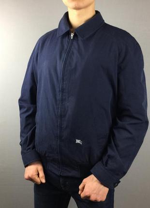 Синяя куртка burberrys винтаж харингтон барберис