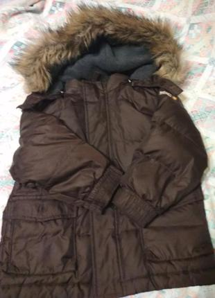 Куртка зимняя парка аляска на мальчика 4-5 лет