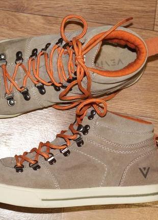 Ботинки из натуральной замши venice  40-41