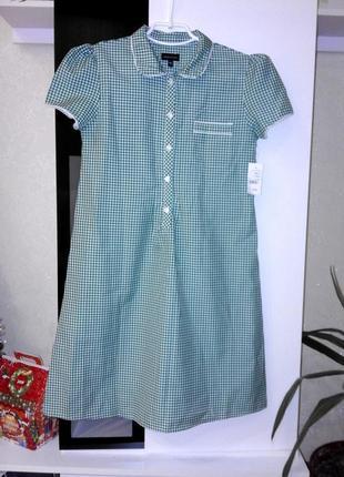 Красивое платье в клеточку на девочку 12 лет debenhams