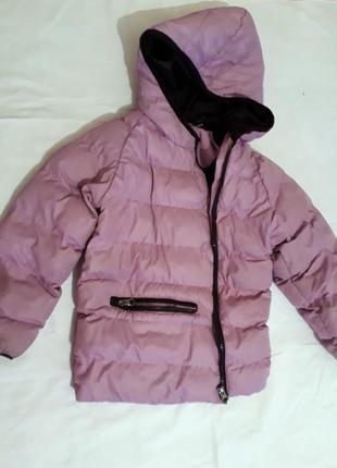 In extenso лиловая куртка пуховик