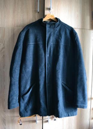 Качественная мужская куртка-полупальто от next