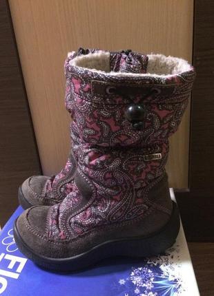 Зимние термо ботинки сапоги от floare