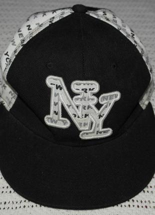Как новая кепка оригинал ny new york реперская бейс