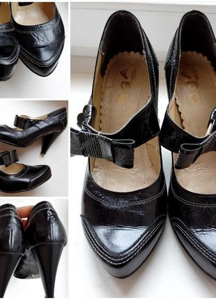 Женские туфли. кожа