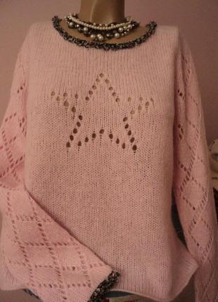 Праздничный ажурный свитерок apart