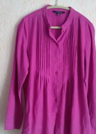 Льняная модная рубашка chadwiks