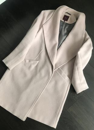 Красивое розовое пальто next