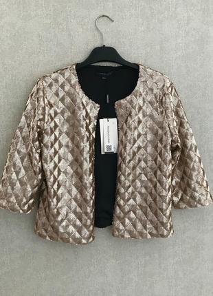 Укороченый пиджачек-накидка