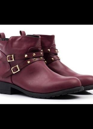 Шикарные ботинки деми лобстер одна пара! мега цена!