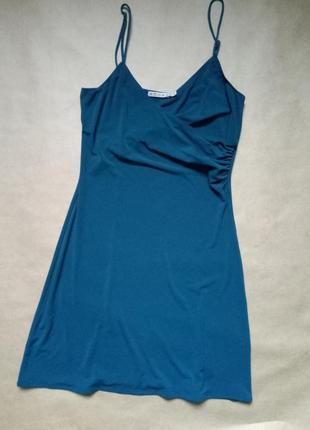 Шикарное платье в бельевом стиле,платье на бретелях,платье на запах,шелковое платье